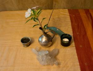 spiritual memoir altar