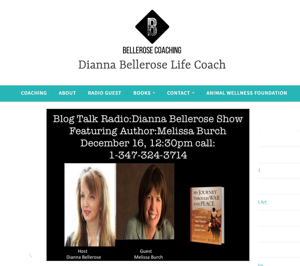Dianna Bellerose Show Melissa Burch
